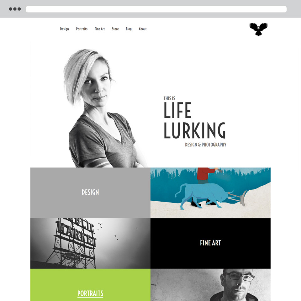 Life Lurking Website Development